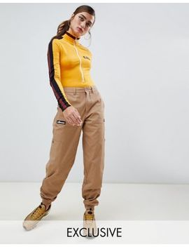 Ellesse Combat Pants With Pockets And Side Logo by Ellesse