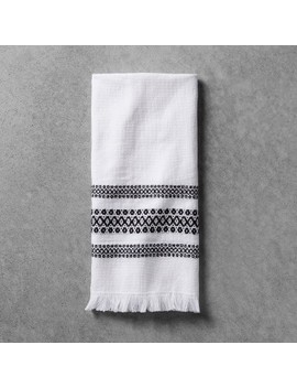 Hand Towel   Black/White   Hearth & Hand™ With Magnolia by Hearth & Hand With Magnolia