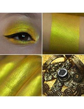 Eyeshadow: Bragging   Nomad. Mustard Prismatic Eyeshadow By Sigil Inspired. by Etsy