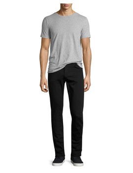 Men's Tyler Taper Fit Jeans, Seriously Black by J Brand