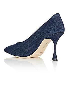 Urgenzapla Denim Pumps by Manolo Blahnik