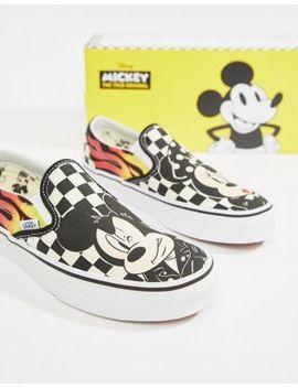 Vans X Disney   Classic Mickey   Instapsneakers by Asos