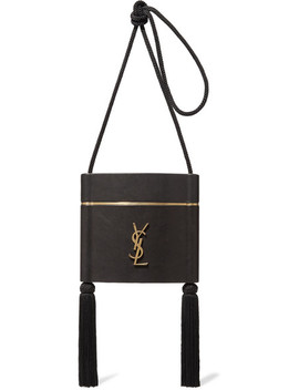 Opyum Tasseled Leather Shoulder Bag by Saint Laurent