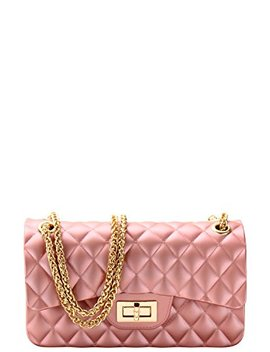 Luxury Silicone Quilted Crossbody Bag by Jenuine