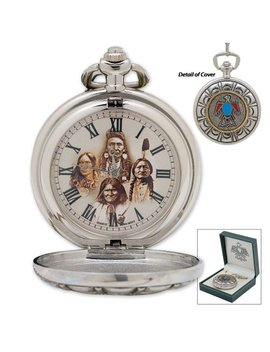 Native American Pocket Watch by Sigma