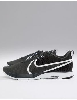 Nike Running Zoom Strike 2 Trainers In Black Ao1912 001 by Nike