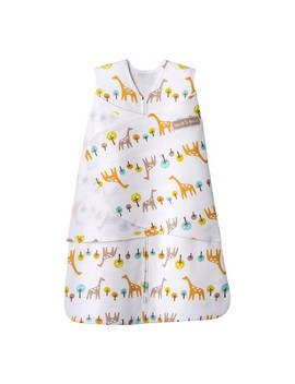 Halo Sleep Sack 100 Percents Cotton Swaddle   Jungle Giraffe   Small by Halo Innovations