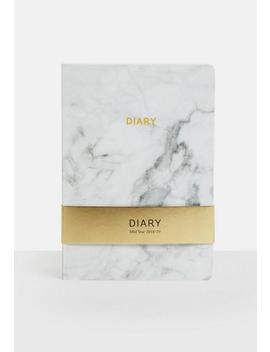 White Marble Half Year Diary by Missguided