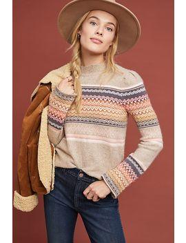 Fargo Fair Isle Sweater by Ett:Twa