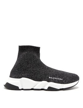 Speed Lurex Trainers by Matches Fashion