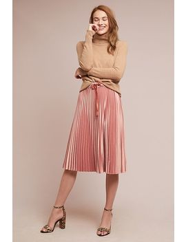 Pleated Satin Skirt by Scotch & Soda