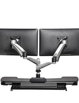 Varidesk   Monitor Arm   Full Motion Spring Dual   Monitor Arm by Varidesk