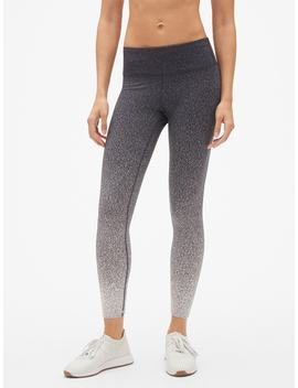 G Fast Ombre Speckled 7/8 Leggings by Gap