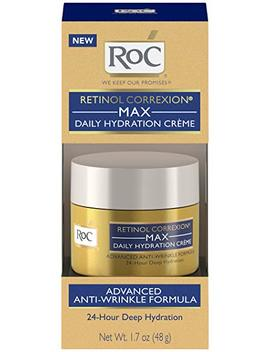 Ro C Retinol Correxion Max Daily Hydration Anti Aging Crème For 24 Hour Deep Hydration, Advanced Anti Wrinkle Moisturizer Made With Retinol & Hyaluronic Acid, 1.7 Oz by Ro C