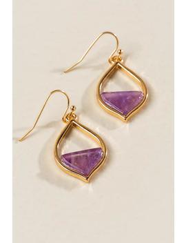 Jamie Moroccan Stone Earrings by Francesca's