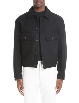 Felted Wool Utility Jacket by Lemaire