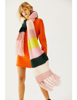 Dream Maker Stripe Scarf by Free People