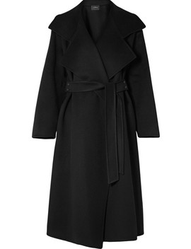 Belted Cashmere Coat by Akris