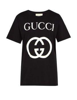 Logo Print Cotton T Shirt by Matches Fashion
