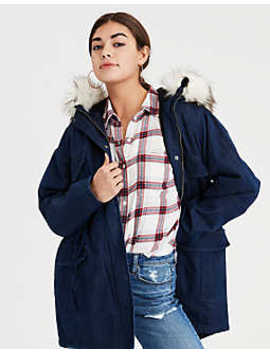 Ae Denim Parka by American Eagle Outfitters