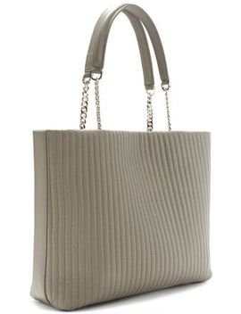 Quilted Leather Tote by Dkny