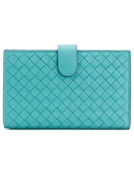 Woven Mini Wallet by Bottega Veneta