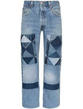 Patchwork Front Jeans by Children Of The Discordance