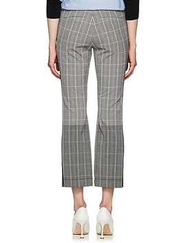 Prince Of Wales Checked Crop Trousers by Derek Lam 10 Crosby