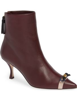 Willa 70 Bow Bootie by Stuart Weitzman