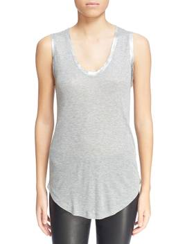 'tam' Scoop Neck Tank by Zadig & Voltaire