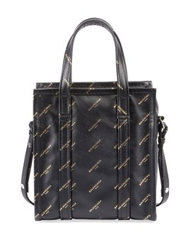 Bazar Shopper Aj Xs Tote Bag, Black/Gold by Neiman Marcus
