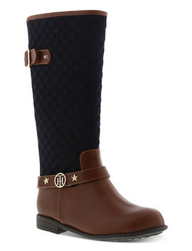 Little & Big Girls Andrea Equine Tall Boots by Tommy Hilfiger