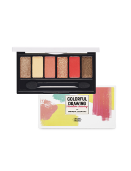 Etude House   Colorful Drawing Fantastic Color Eyes (Vermilion Drawing) by Etude House