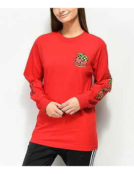 By Samii Ryan Make It Last Red Long Sleeve T Shirt by Bysamiiryan