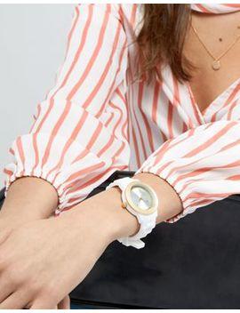 Pilgrim 701612000 Watch With White Strap by Pilgrim