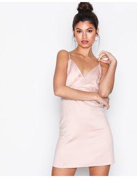 Diamante Strap Mini Slip Dress by Topshop