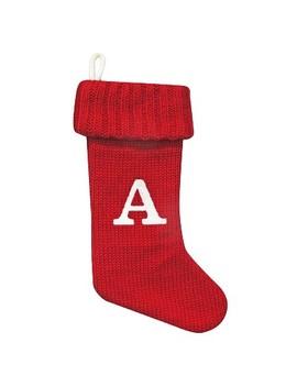 knit-monogram-stocking---wondershop-red by wondershop