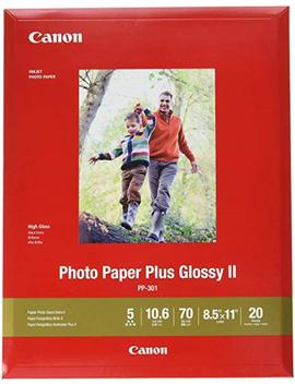 """Canon Ink 1432 C003 Photo Paper Plus Glossy Ii 8.5"""" X 11"""" 20 Sheets by Canon"""