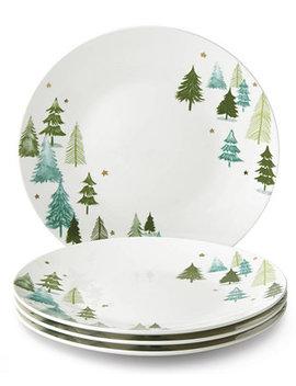 Balsam Lane Dinner Plates, Set Of 4 by Lenox