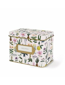 Rifle Paper Co. Recipe Box   Herb Garden by Plus Rifle Paper Co.