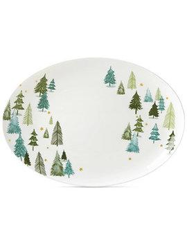Balsam Lane Serving Platter by Lenox