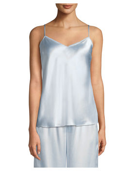 V Neck Silk Camisole by Neiman Marcus