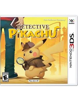 detective-pikachu---nintendo-3ds by nintendo