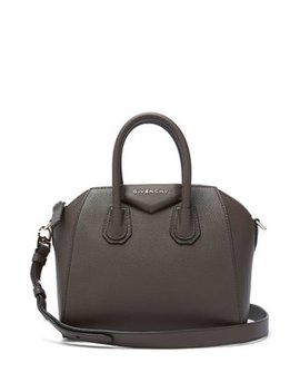 Antigona Mini Grained Leather Cross Body Bag by Matches Fashion