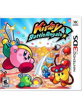 Nintendo 3 Ds by Kirby: Battle Royale