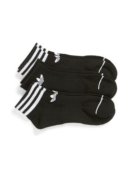 Originals 3 Pack Ankle Socks by Adidas