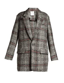 Erix Checked Tweed Blazer by Matches Fashion
