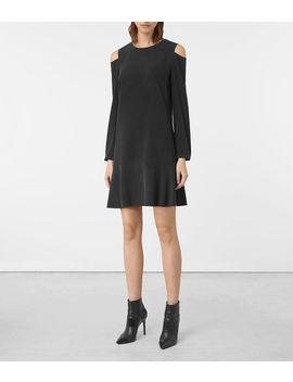 Faro Silk Dress by Allsaints
