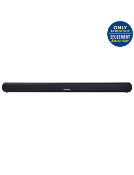Toshiba Ty Sbx130 16 Watt 2.0 Channel Sound Bar   Only At Best Buy by Toshiba