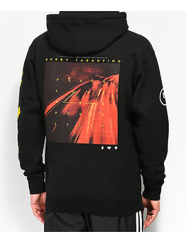 Bobby Tarantino By Logic Peace, Love & Positivity Black Hoodie by Bobby Tarantino By Logic